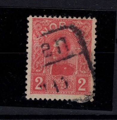 P44051 / Norvege / Norway / Sg # 129 Obl / Used 165 €