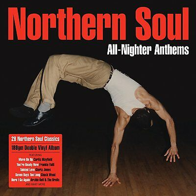 NORTHERN SOUL ALL-NIGHTER ANTHEMS 2-LP VINYL SET Released 13/10/2017