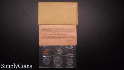 1962 Proof Set ~ Original Envelope With COA ~ US Mint Silver Coin Lot SKU-614