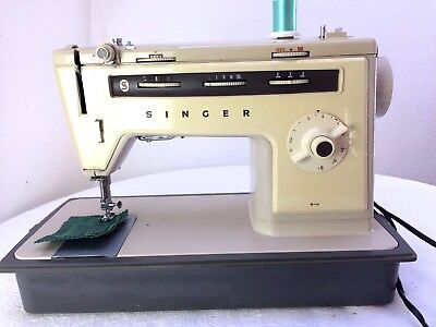 Heavy Duty Singer 514 Electric Sewing Machine sews Leather & Upholstery
