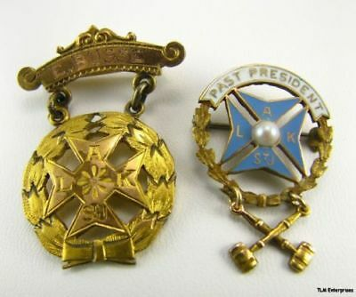KNIGHTS ST JOHN - Ladies Auxiliary Past President PINS