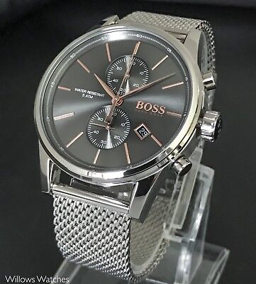 Hugo Boss Jet Men's Chronograph Watch 1513440 Brand New RRP £299