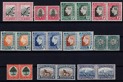 P38665/ South Africa / Pairs / Lot 1933 - 1939 Neufs * / Mh 135 €