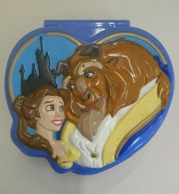 Polly Pocket Disney Beauty and the Beast pocket compact. Bluebird 1995