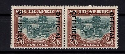 P38673/ South Africa / Official / Pair / Y&t # 63A – 70A Neufs * / Mh 80 €