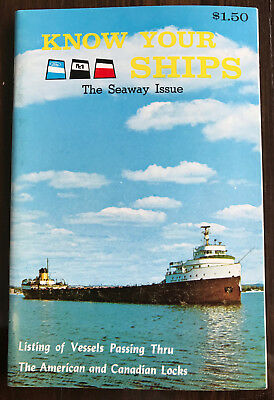 Booklet: Know Your Ships 1970 - Great Lakes guide – Great condition