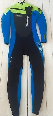 O'neill Youth Superfreak Fz 5/4Mm Full Wetsuit. Age 12.  O'neill Wetsuits