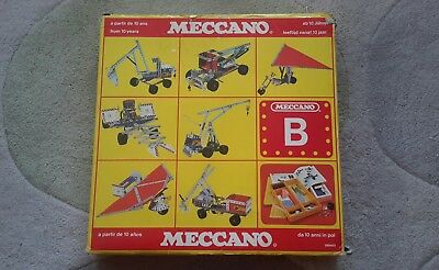 Vintage Meccano B Set 1983 Boxed