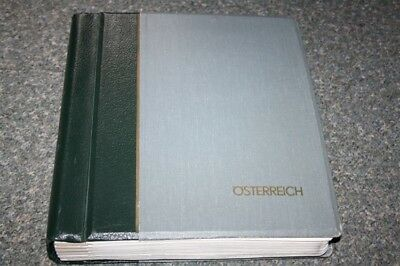 Austria Mint Collection 1945-1987 in Lighthouse Hingeless Album