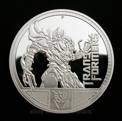 Transformers Bumblebee Autobots Silver Plated Commemorative Coin