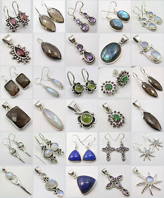 Wholesale! 15 Silver Earrings Pendants Sets! Jewellery