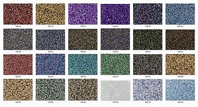 #1 Bugle 3mm Japanese Toho Glass Seed Beads - Pick from 24 Colors! Listing B