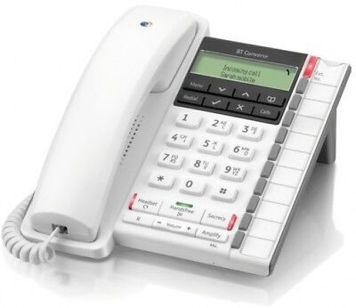 BT Converse 2300 Corded Telephone - White