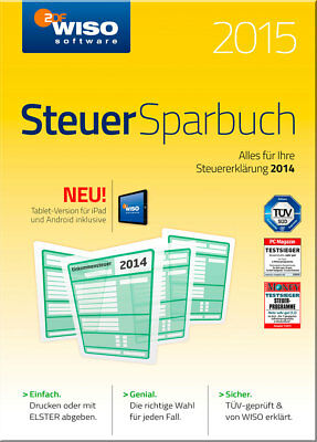 / WISO Steuer-Sparbuch 2015, CD-ROM /  9783866215009