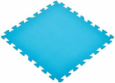"NEW Bestway Pool Floor Protector 20"" x 20"" Pack of 7 Interlocking Puzzle Pieces"
