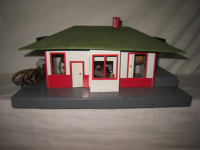 American Flyer Trains S Gauge Accessory #755 Automatic Talking Station  MX4
