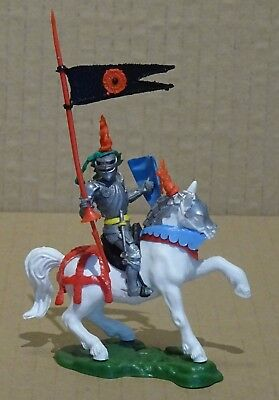 Britains Swoppet Mounted Knight With Lance - Complete - Excellent !!