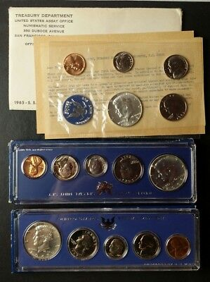 1965, 1966, and 1967 United States Special Mint Sets