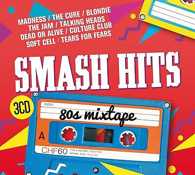 SMASH HITS 80s MIXTAPE 3CD (New Release 13th October 2017)