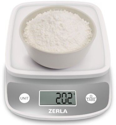 Digital Kitchen Scale by Zerla ? Versatile Food Scale ? Weigh Snacks, and