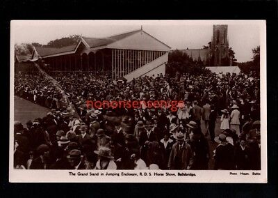 IRELAND Co Dublin DUBLIN HORSE SHOW BALLSBRIDGE GRANDSTAND JUMPING ENCLOSURE 24