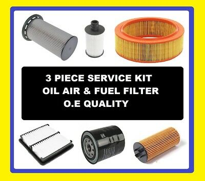 Oil Air Fuel Filter Citroen Berlingo Diesel 1.9 2001,2002,2003,2004,2005
