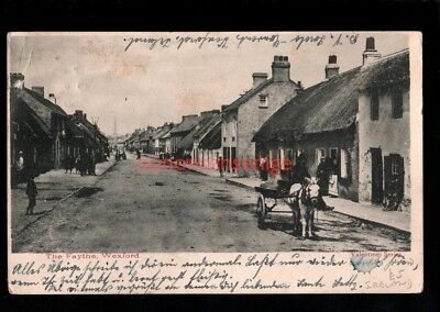 IRELAND Co Wexford WEXFORD THE FAYTHE IRISH CART POSTCARD 1903 - 47