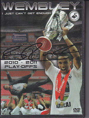 Brendan Rogers Signed Wembley I Just Cant Get Enough Swansea Fdc Dvd