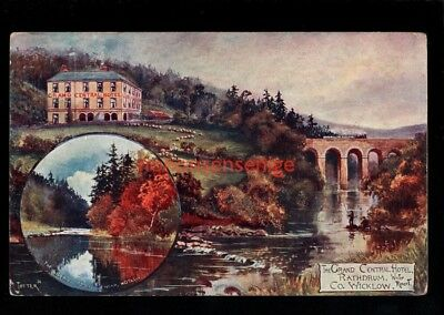 IRELAND Co Wicklow RATHDRUM THE GRAND CENTRAL HOTEL POSTCARD E20C - 52