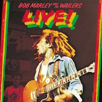BOB MARLEY & THE WAILERS LIVE DELUXE 2CD ALBUM SET (October 13th 2017)