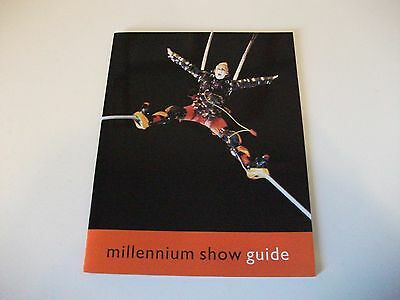 Millennium Show Guide Pack (The Dome 2000) Ft OVO show music by Peter Gabriel