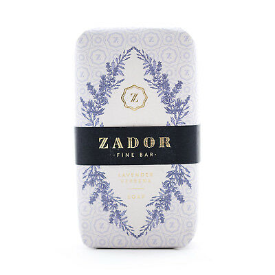 ZADOR Fine Bar Soap,Seife,Lavender Verbena,mit Thermalwasser,mady in Hungary