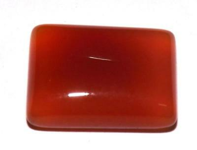 15.30 cts 100% Natural Earth Mined Carnelian Cabochon Gemstone #zcr38