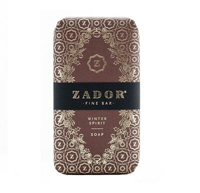 ZADOR Fine Bar Soap,Seife,Winter Spirit,mit Thermalwasser,mady in Hungary