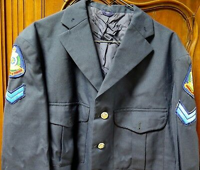 Rare / Vintage / Obsolete Logo Qld Police Senior Constable Dress Jacket.