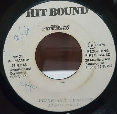 "7"" Single: Leroy Smart - Badness No Pay (Hitbound), 15 minutes of niceness!"