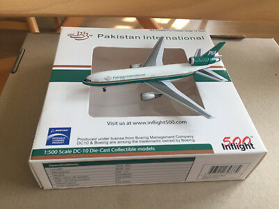 Inflight500 1:500 Pakistan International Mc Donnell Douglas DC-10, NG+OVP!!!