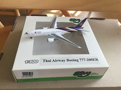 Sky500 1:500 Thai Airways Boeing 777-200ER, NG+OVP!!!
