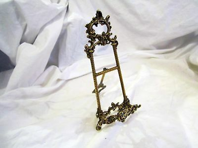 A Vintage Brass Book Or Bible Stand