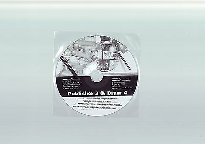 Publisher 3 & Draw 4 - Pc Desktop Publishing Software - Fast Post - New