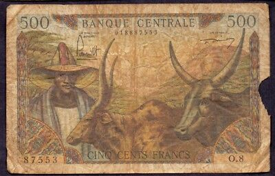 500 Francs From Cameroun French Colony
