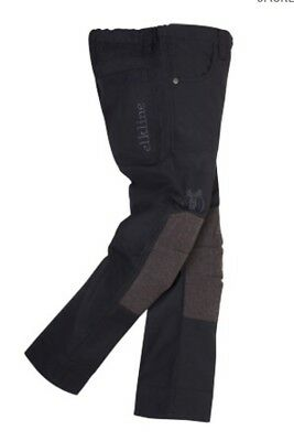 elkline Woodruff II - Sturdy Outdoor Trousers for Kids/Youth, Anthracite