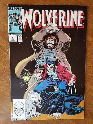 Wolverine #6 Marvel April 89 Nm Combine Shipping