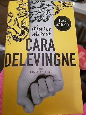 Cara Delevingne book Mirror Mirror hardback New book