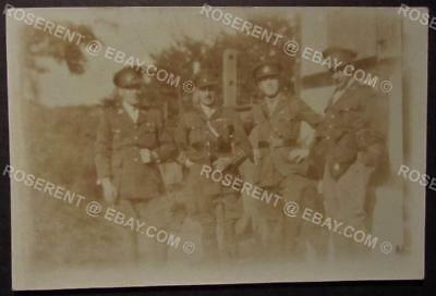 1919 Royal Warwickshire Regiment - Koln - Officers some WW1 decorated 8.5 by 6cm