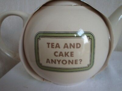 Great British Bake Off Teapot-Tea And Cake Anyone?  Ideal For Afternoon Tea New