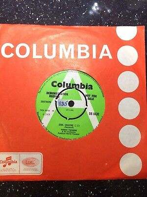 "Norrie Paramor Orchestra+Brian Bennett Demo:""soul Coaxing"".1968 Columbia+Cover."