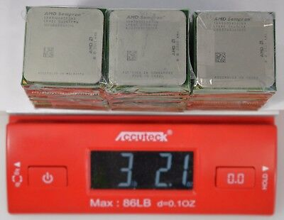 36 AMD Sempron Processors for CPU Chip Collection or Gold Recovery 3.13 lbs