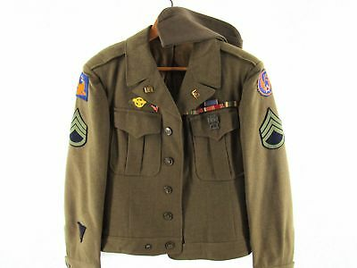 WWII Eisenhower Staff Sergeant Medical Corp 15th Air Force Army Bombardier -36R