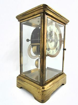 Antique Ansonia Open Escapement Chiming Shelf/ Mantel/Carriage Clock